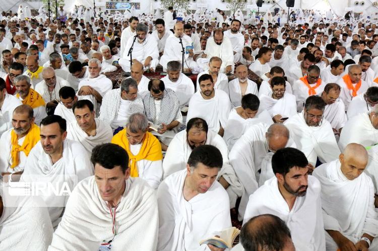 تصاویر مراسم دعای عرفه در شرق مکه,عکس های مراسم دعا عرقه,تصاویری از دعای عرفه,تصاویر بارش باران در صحرای عرفات