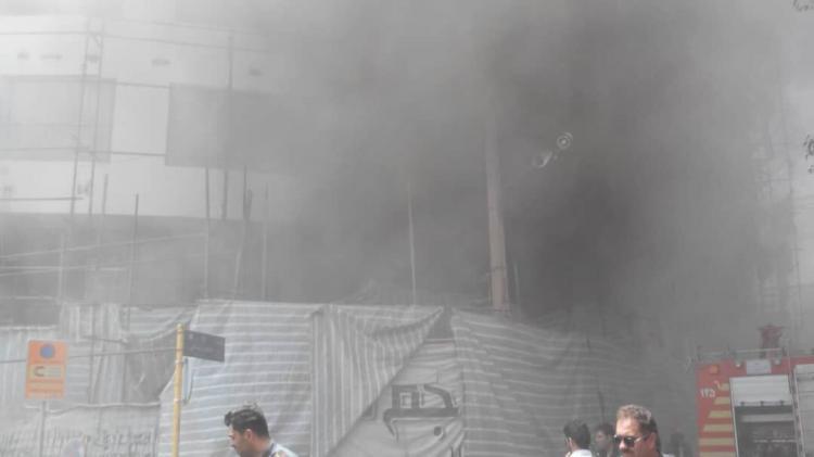 تصاویر آتش سوزی در هتل آسمان شیراز,عکس های آتش گرفتن هتل آسمان شیراز,تصاویری از هتل آسمان شیراز پس از آتش سوزی