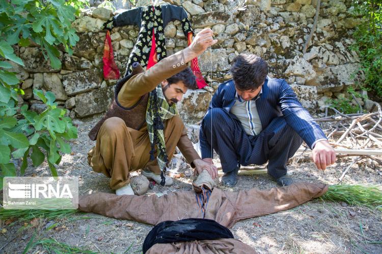 تصاویر مراسم جشن چله تابستان در روستای زردویی,عکس های مردمان روستای زردویی,تصاویر افراد محلی روستای زردویی