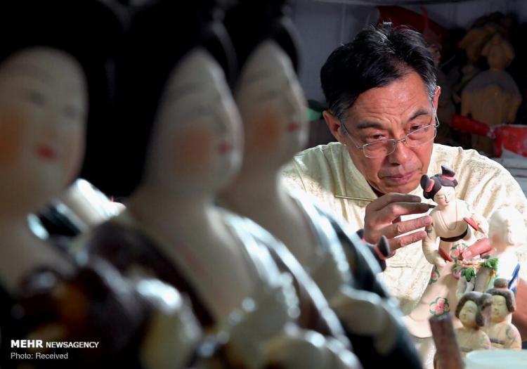 تصاویر هنر مجسمهسازی سفالی در چین,عکس های هنر مجسمهسازی سفالی در چین,تصاویر مجسمهسازی سفالی