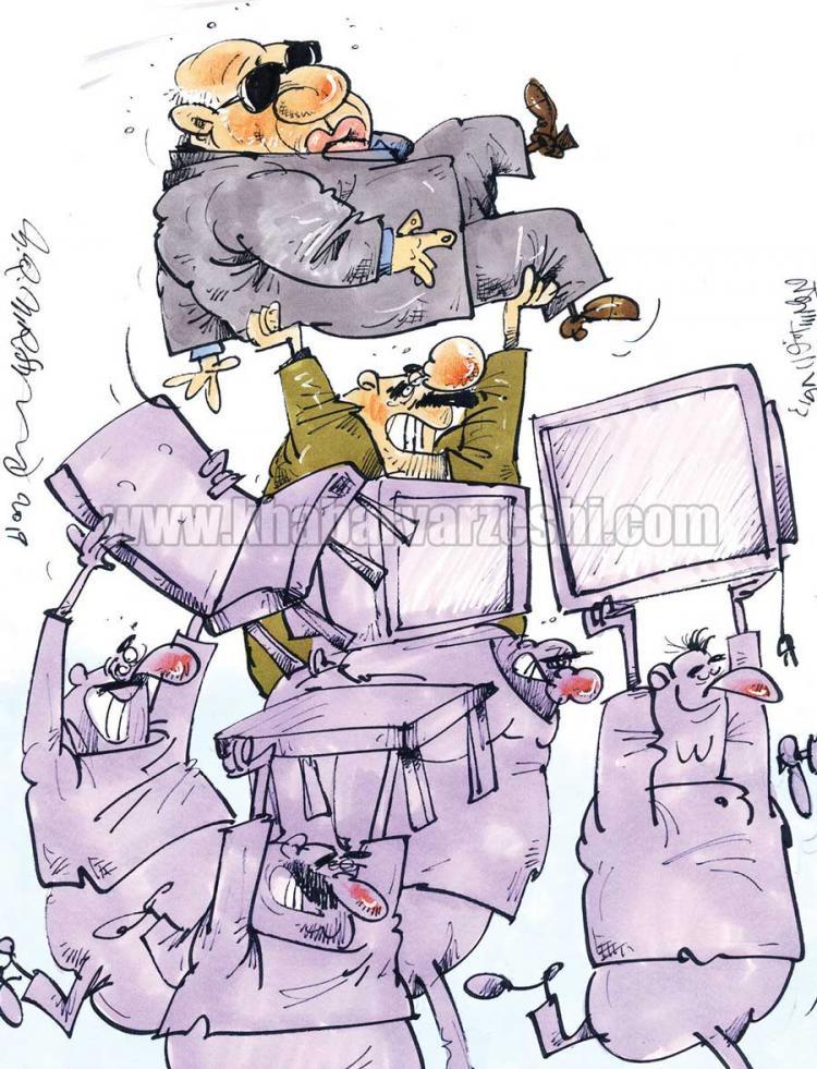 کارتون توقیف اموال استقلال,کاریکاتور,عکس کاریکاتور,کاریکاتور ورزشی