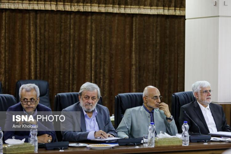 تصاویر جلسه مجمع تشخیص مصلحت نظام,عکس های جلسه مجمع تشخیص مصلحت نظام در 16 مرداد 98,عکس احمدی نژاد در جلسه مجمع تشخیص مصلحت نظام 16 مرداد