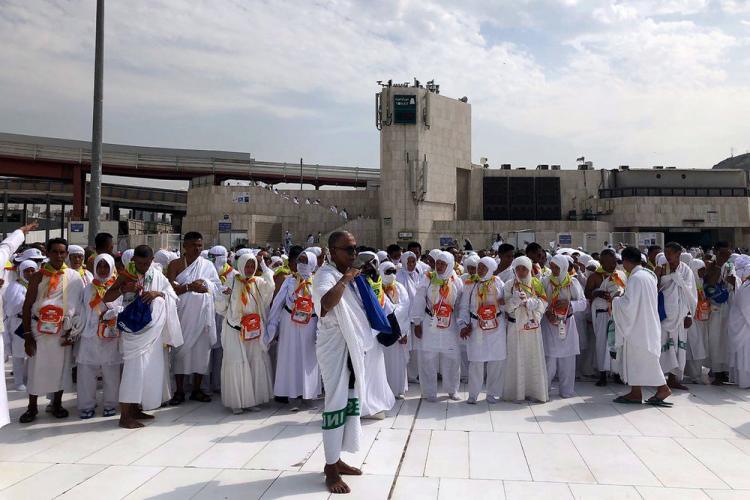 تصاویر پوششهای مختلف حجاج در زیارت خانه خدا,عکس حجاج خانه خدا,تصاویر لباس حجاج در مکه