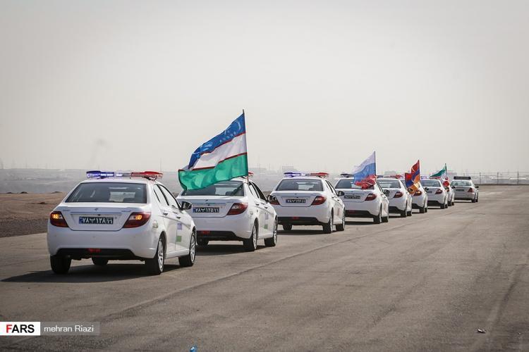 تصاویر مراسم افتتاحیه مسابقات بین المللی گشت جادهای,عکس های مسابقات بین المللی گشت جادهای,تصاویر مسابقات بین المللی گشت جادهای در مجتمع آیلند