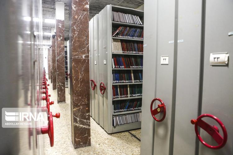 تصاویر پژوهشگاه علوم و فناوری اطلاعات ایران,عکس های ایرانداک,تصاویر محل نگهداری پایاننامه دانشجویان