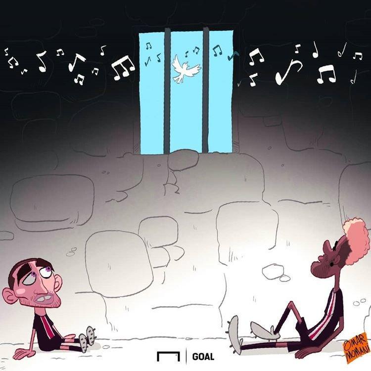 کاریکاتور نیمار و مارکو وراتی,کاریکاتور,عکس کاریکاتور,کاریکاتور ورزشی