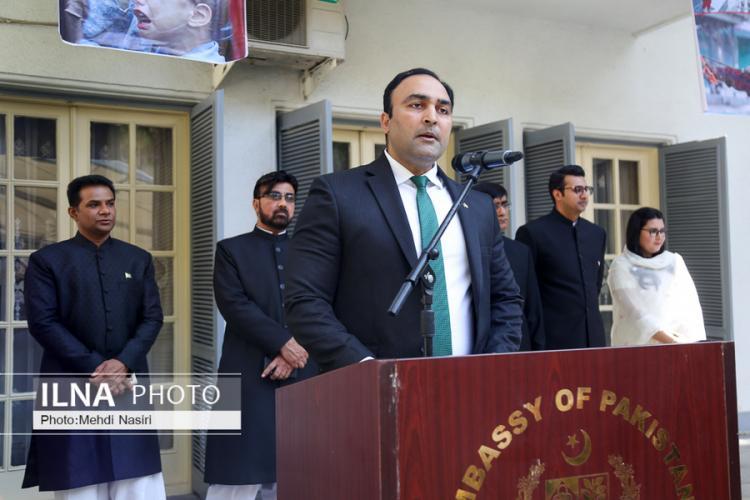 تصاویر مراسم هفتاد و دومین سالگرد استقلال پاکستان،عکس های مراسم استقلال پاکستان,عکس های هفتاد و دومین سالگرد استقلال پاکستان