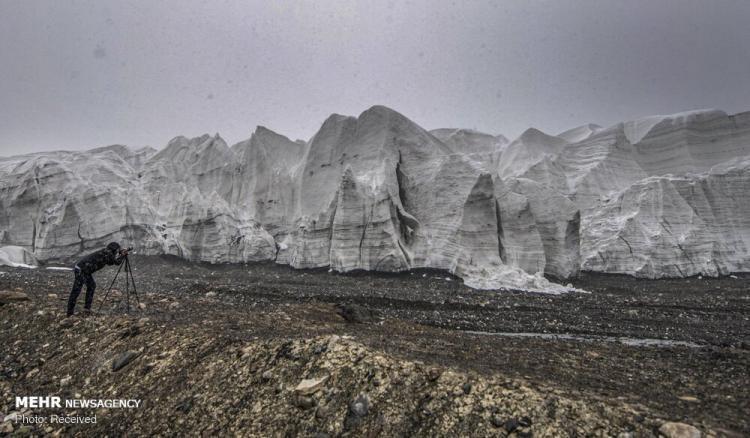 تصاویر یخچال های طبیعی تبت,عکس های دیدنی از یخچال های طبیعی,تصاویر منطقه زیبای جنوب غرب چین