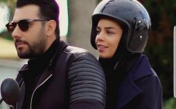 موتورسواری احسان خواجه امیری و همسرش,اخبار هنرمندان,خبرهای هنرمندان,بازیگران سینما و تلویزیون
