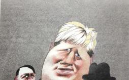 کارتون سیاستهای بوریس جانسون