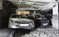 اینفوگرافیک نکات هنگام آتشسوزی خودرو
