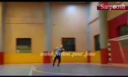 فیلم/ سوپرگل عادل فردوسی پور در فوتسال
