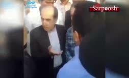 فیلم/ پاسخ عجیب 'هدایتالله خادمی' به اعتراض یک شهروند