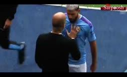 فیلم/ عصبانیت ستارگان فوتبال پس از تعویض
