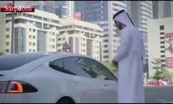فیلم/ تبلیغات تاکسی بدون راننده در دبی