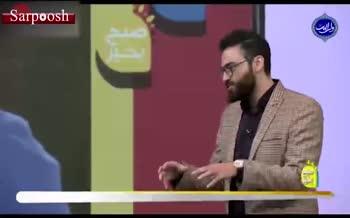 فیلم/ گزارشگری جالب عباس قانع روی گلهای تاریخی