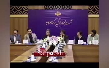 فیلم/ حمله تند احسان علیخانی به پریناز ایزدیار
