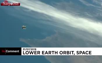 فیلم/ پرتاب موشک حامل مواد غذایی برای ایستگاه فضایی بینالمللی توسط روسیه