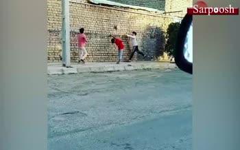 انتشار فیلم بازی والیبال کودکان قائناتی در اینستاگرام فدراسیون جهانی