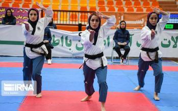 تصاویر مسابقات قهرمانی پومسه زنان کشور,عکس های مسابقات قهرمانی پومسه زنان کشور،تصاویر مسابقات پومسه زنان در اصفهان