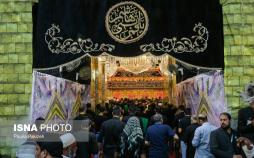 تصاویر کربلا در شب تاسوعای حسینی,عکس های شب تاسوعا در کربلا,تصاویری از مراسم عزاداری در شب تاسوعای حسینی