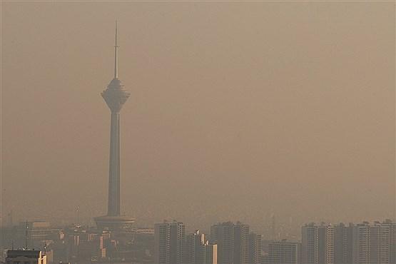 کاهش موقتی کیفیت هوای تهران,اخبار اجتماعی,خبرهای اجتماعی,وضعیت ترافیک و آب و هوا