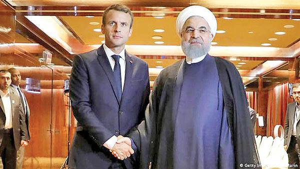 حسن روحانی و امانوئل ماکرون,اخبار سیاسی,خبرهای سیاسی,سیاست خارجی