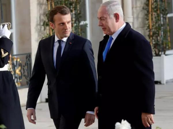 بنیامین نتانیاهو و امانوئل مکرون,اخبار سیاسی,خبرهای سیاسی,سیاست خارجی