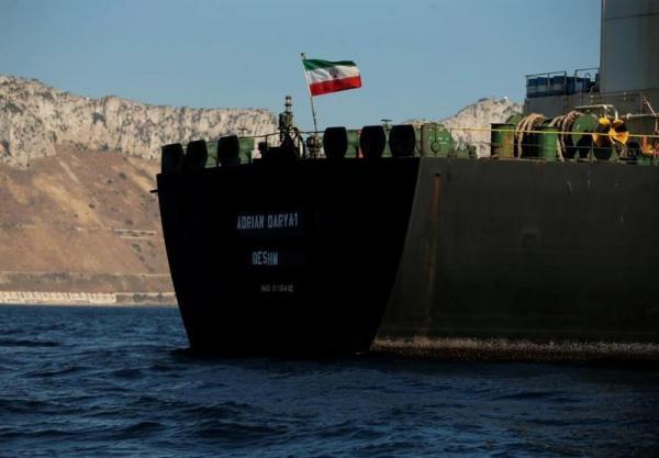 ادعای نشنال: نفتکش آدریان دریا در نزدیکی سوریه سرعت خود را کاهش داد