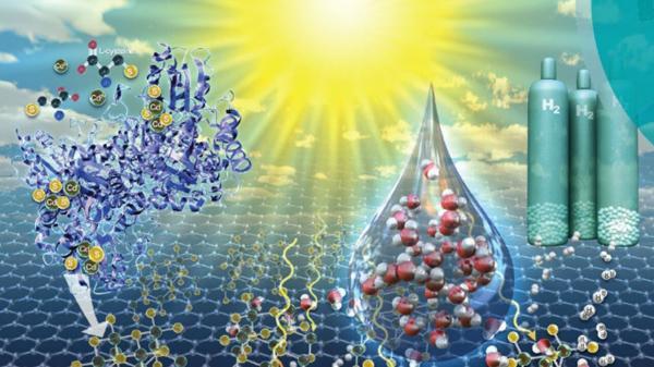 تولید هیدروژن از آب,اخبار علمی,خبرهای علمی,طبیعت و محیط زیست