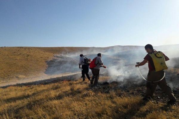آتش سوزی در مراتع سمیرم,اخبار اجتماعی,خبرهای اجتماعی,محیط زیست