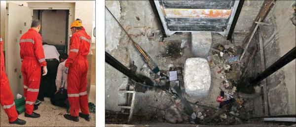 مرگ کودکی در آسانسور,اخبار حوادث,خبرهای حوادث,حوادث امروز
