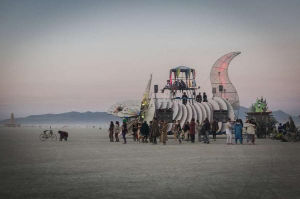 فستیوال مرد سوزان در بیابان نوادا,اخبار جالب,خبرهای جالب,خواندنی ها و دیدنی ها