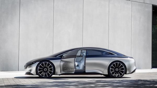 مرسدس بنز ویژن EQS,اخبار خودرو,خبرهای خودرو,مقایسه خودرو