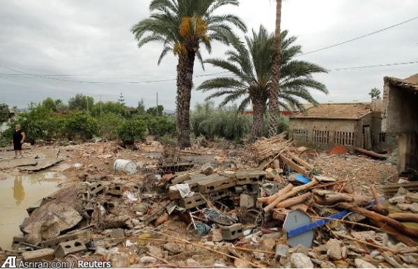 خسارات سیل اسپانیا,اخبار علمی,خبرهای علمی,طبیعت و محیط زیست