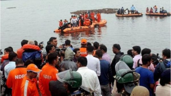 واژگونی قایق گردشگری در هند,اخبار حوادث,خبرهای حوادث,حوادث امروز