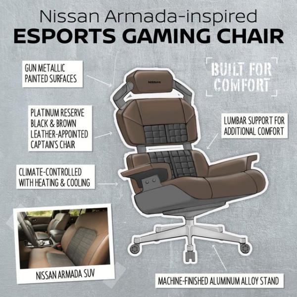 طراحی صندلیهای خودرو نیسان,اخبار دیجیتال,خبرهای دیجیتال,بازی