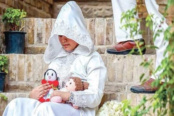 وضعیت قرمز کودکهمسری در اردبیل