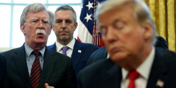 دونالد ترامپ و جان بولتون,اخبار سیاسی,خبرهای سیاسی,سیاست خارجی