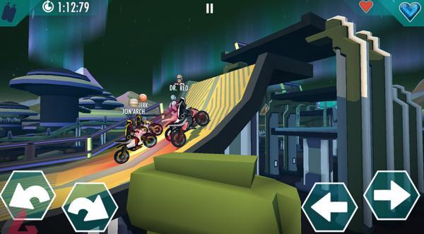 بازی موبایل Gravity Rider Zero,اخبار دیجیتال,خبرهای دیجیتال,بازی