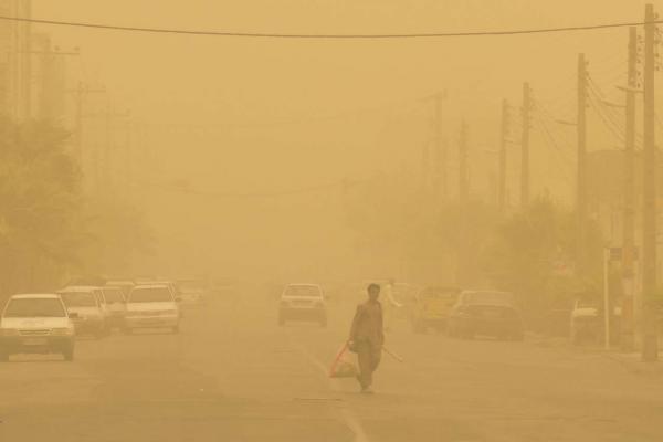 ناسالم بودن هوای چند شهر,اخبار اجتماعی,خبرهای اجتماعی,وضعیت ترافیک و آب و هوا