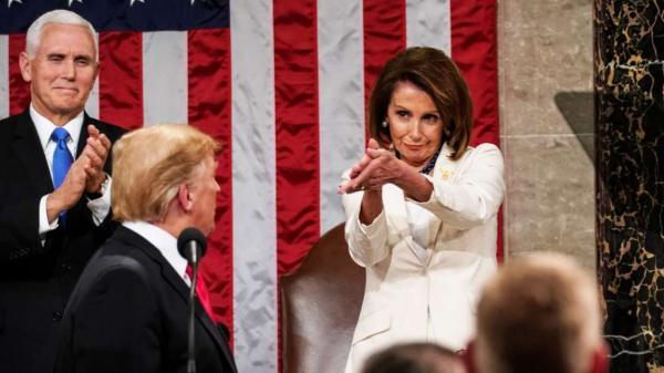 دونالد ترامپ و نانسی پلوسی,اخبار سیاسی,خبرهای سیاسی,اخبار بین الملل