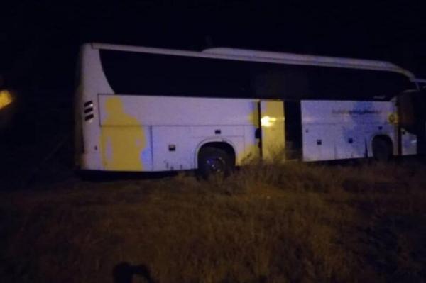 تصادف اتوبوس در محدوده میامی سبزوار,اخبار حوادث,خبرهای حوادث,حوادث