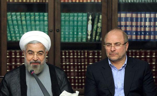 حسن روحانی و محمدباقر قالیباف,اخبار اجتماعی,خبرهای اجتماعی,شهر و روستا