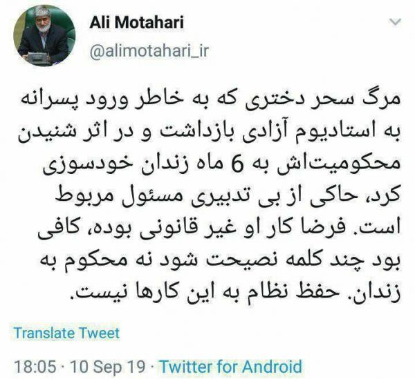 علی مطهری,اخبار سیاسی,خبرهای سیاسی,مجلس
