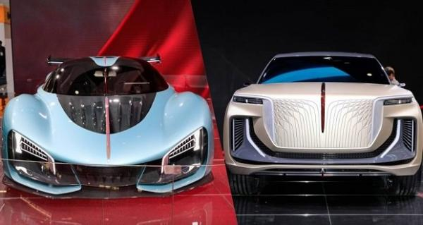 خودروی هایپرکار هونگچی S9 و شاسی بلند E115,اخبار خودرو,خبرهای خودرو,مقایسه خودرو