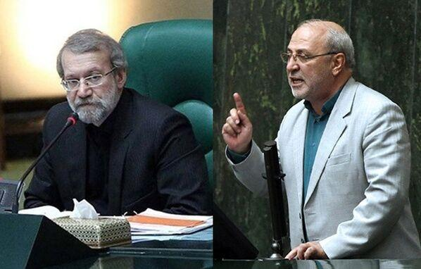 حاجیدلیگانی: حقوق مدیران شفاف نیست/ لاریجانی: حقوق شاغلان دو قوه در سامانه بارگذاری شده است