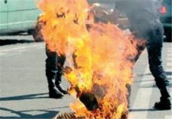 جزئیات خودسوزی مقابل یکی از واحدهای قضایی تهران/ مصدوم تحت مراقبت پزشکی است