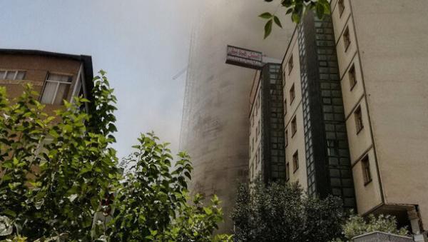 آتش سوزی در برج ۳۰ طبقه در چیتگر,اخبار حوادث,خبرهای حوادث,حوادث امروز