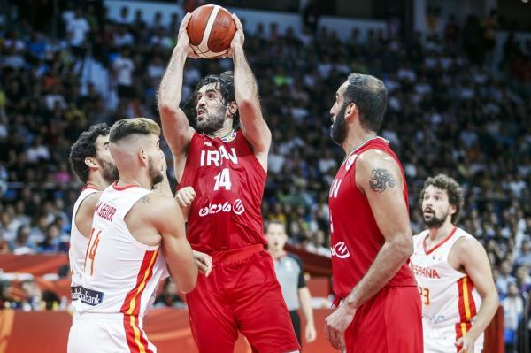 باخت تیم ملی بسکتبال ایران برابر اسپانیا/ شانس المپیکی شدن هنوز وجود دارد